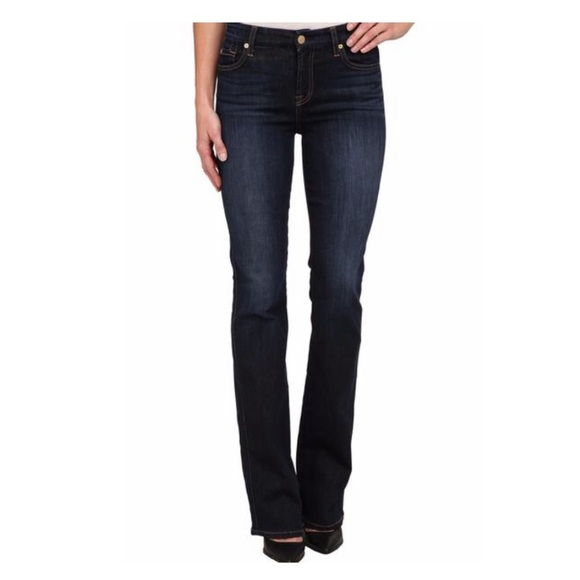7 For All Mankind Denim - 7 for all mankind Jeans Denim Bootcut 24 x 32 1/2